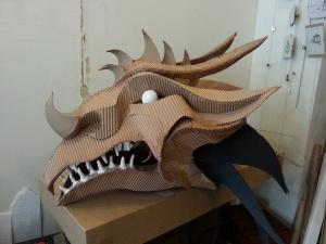 dragon en réalisation