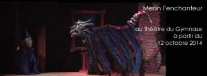 Marionnette du dragon de merlin l'enchanteur