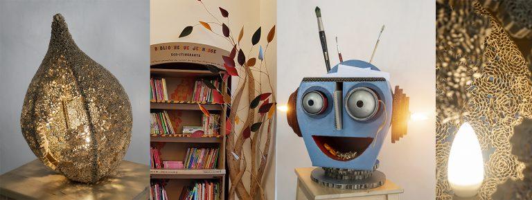 Le Robot et la lampe